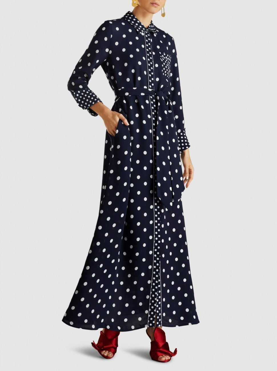 Layeur polka dot dress