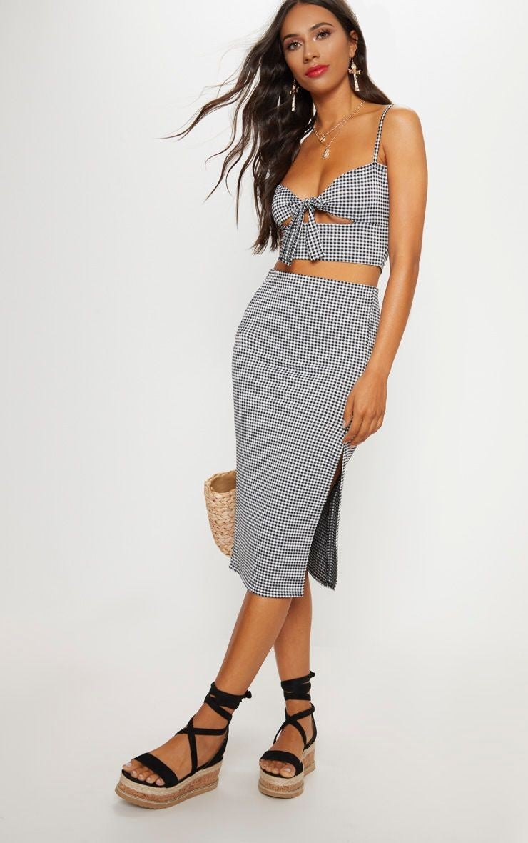pretty_little_thing_gingham_skirt_set