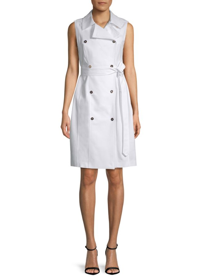 Calvin Klein trench dress