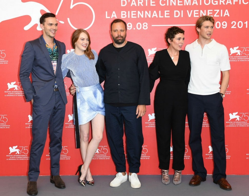 The Favourite cast