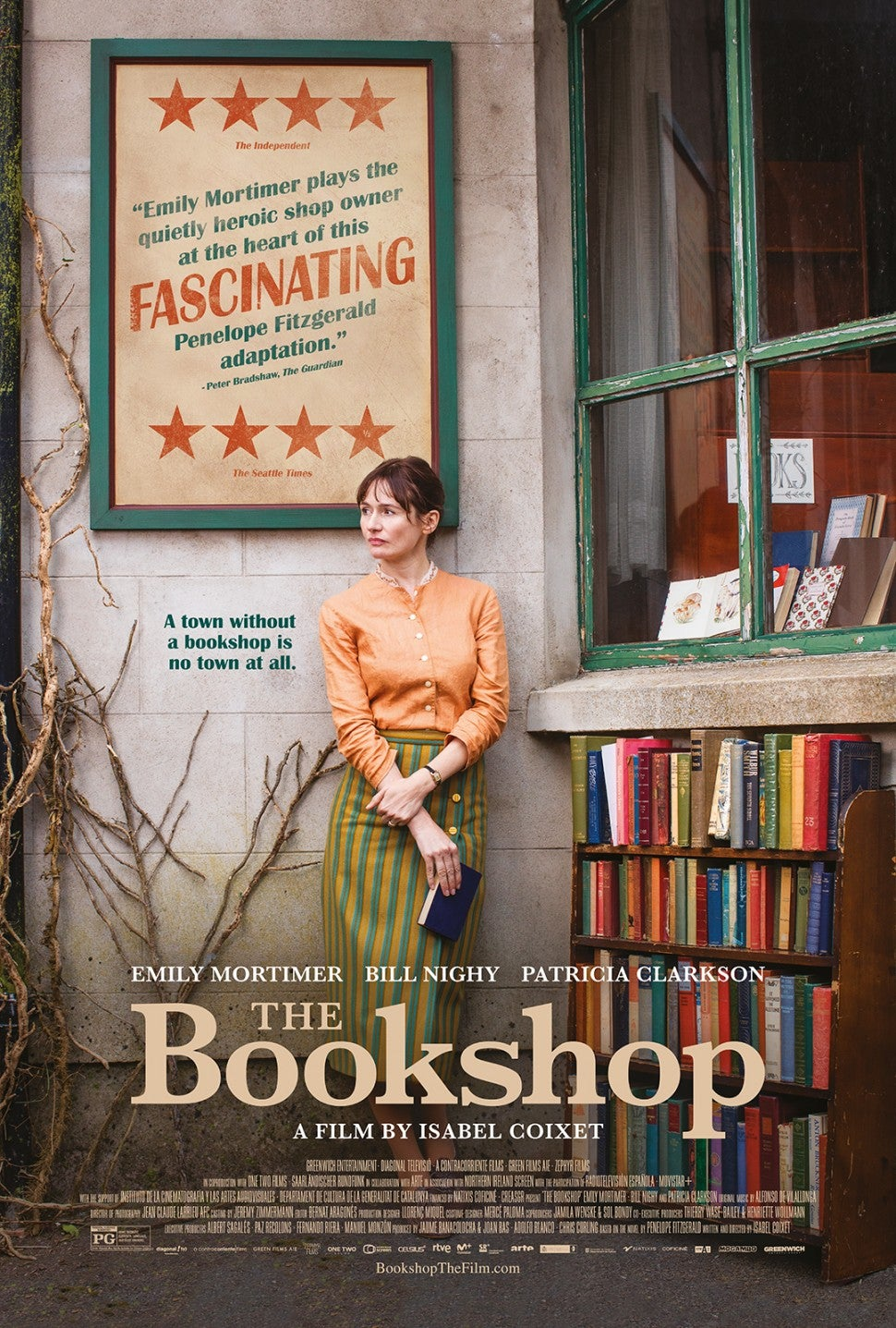 The Bookshop, Emily Mortimer