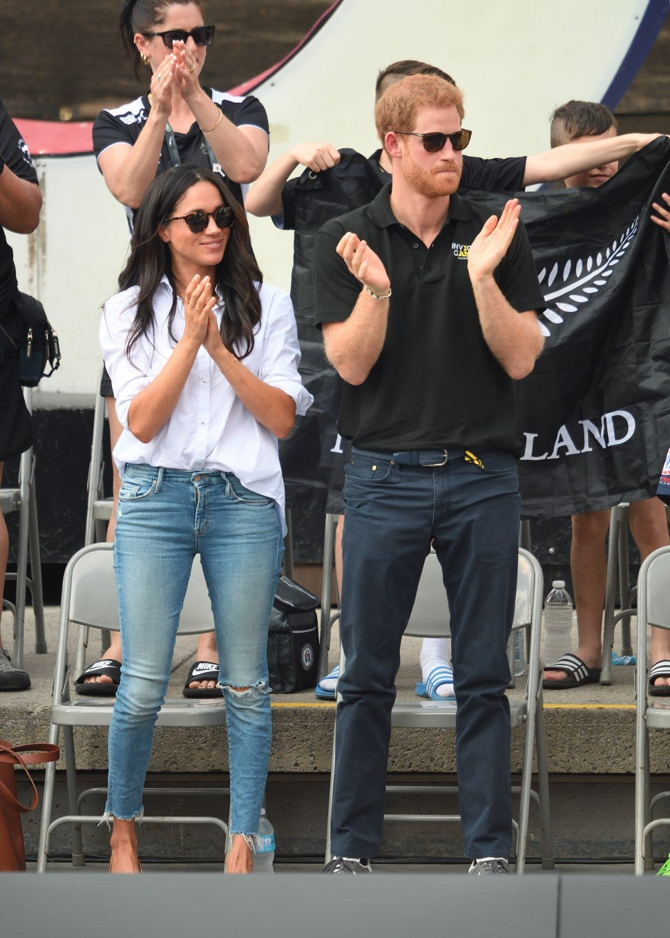 Meghan Markle Mother jeans