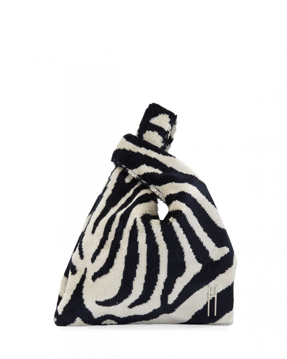 Hayward zebra print bag