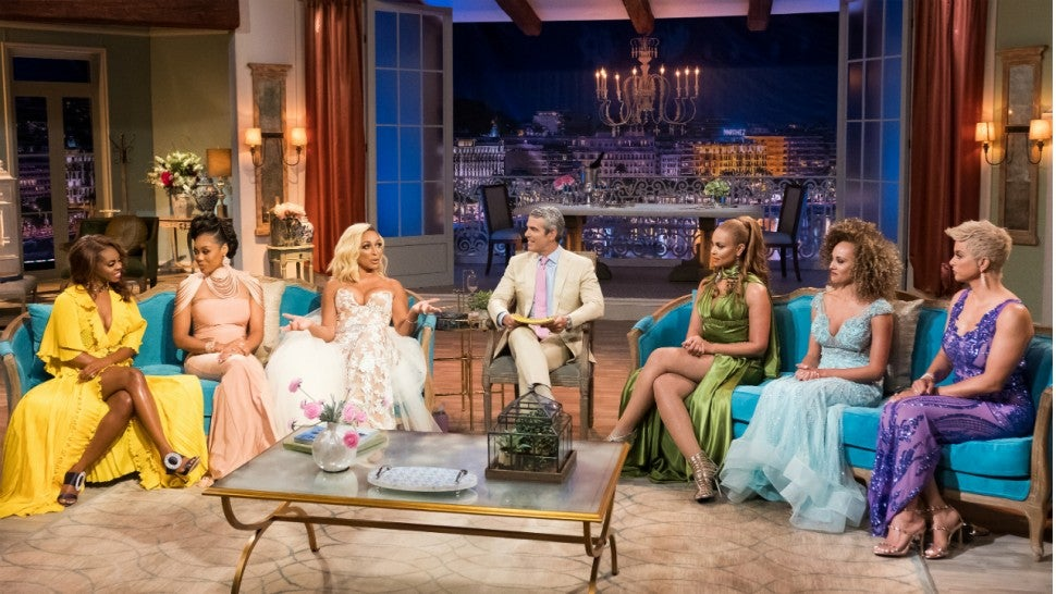 'The Real Housewives of Potomac' cast at the season three reunion.