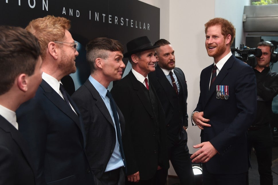 Prince Harry The Revenant Cast London Premiere