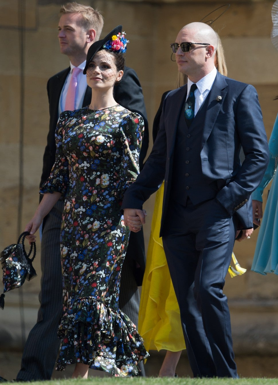 Tom Hardy Charlotte Riley Royal Wedding