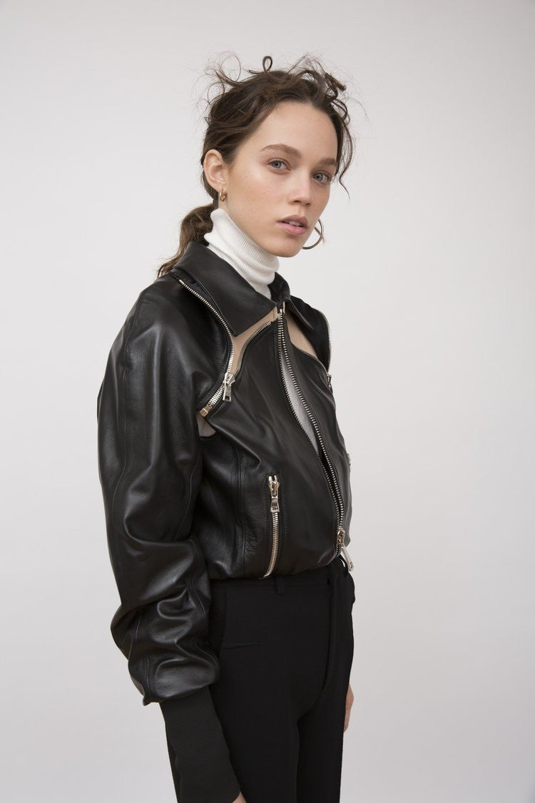 Amkie leather jacket