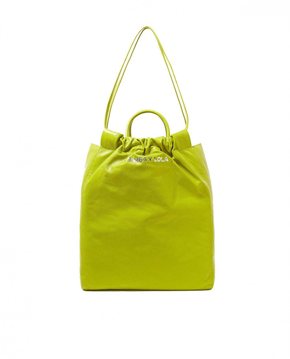 Bimba y Lola lime bag