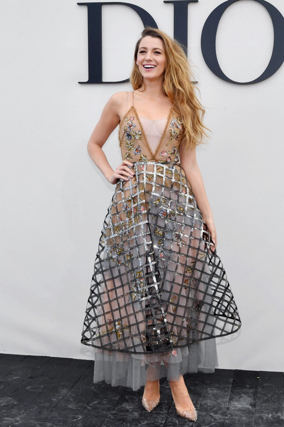 Blake Lively at Dior show