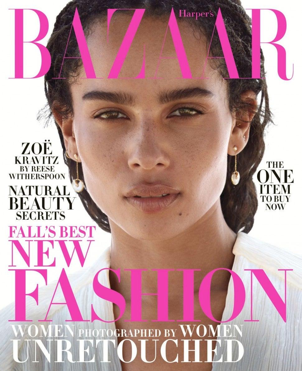 Zoe Kravitz News: Zoë Kravitz Goes Completely Unretouched In New Cover Shoot