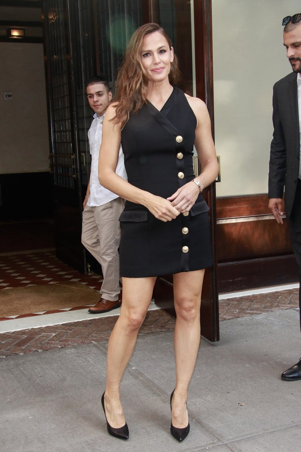 Jennifer Garner Turns Heads in LBD While Out in NYC -- See