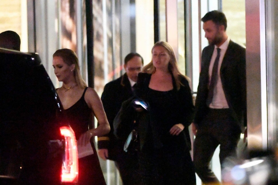 Jennifer Lawrence and boyfriend Cooke Maroney at the New York Film Fest on Sept. 28