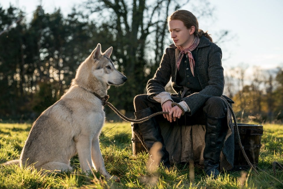 Outlander Ian and Rollo