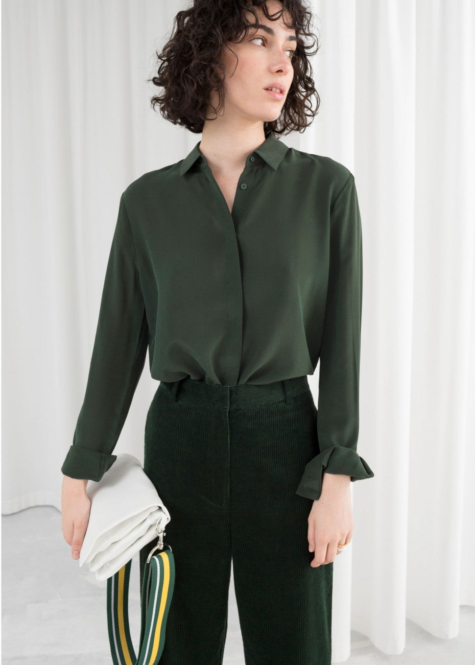 & Other Stories green blouse