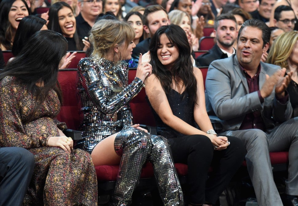 Taylor Swift and Camila Cabello