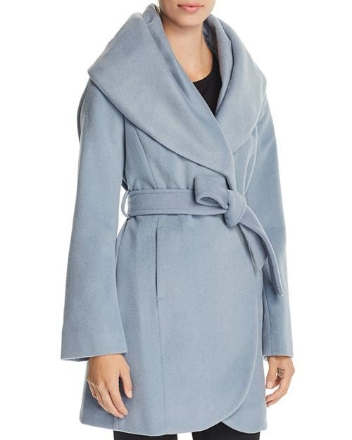 T Tahari blue coat