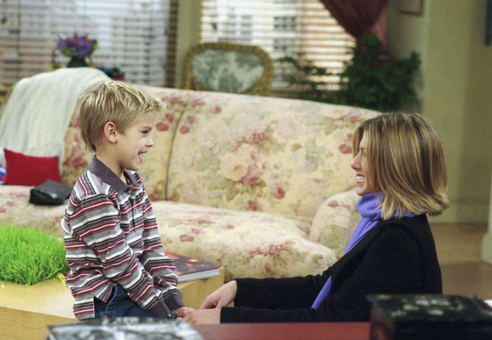 Cole Sprouse and Jennifer Aniston