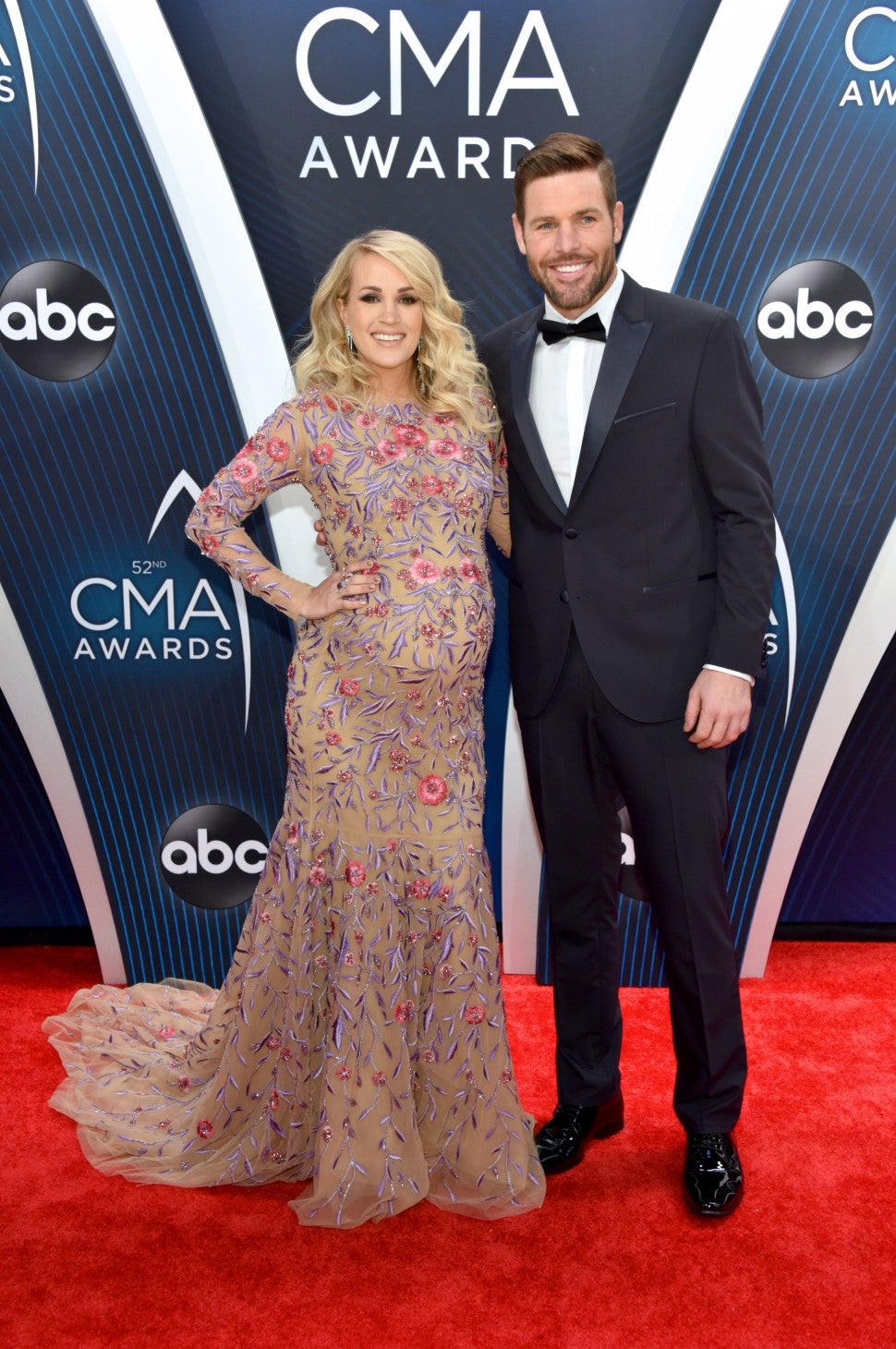 Carrie Underwood and Mike Fisher CMA Awards 2018