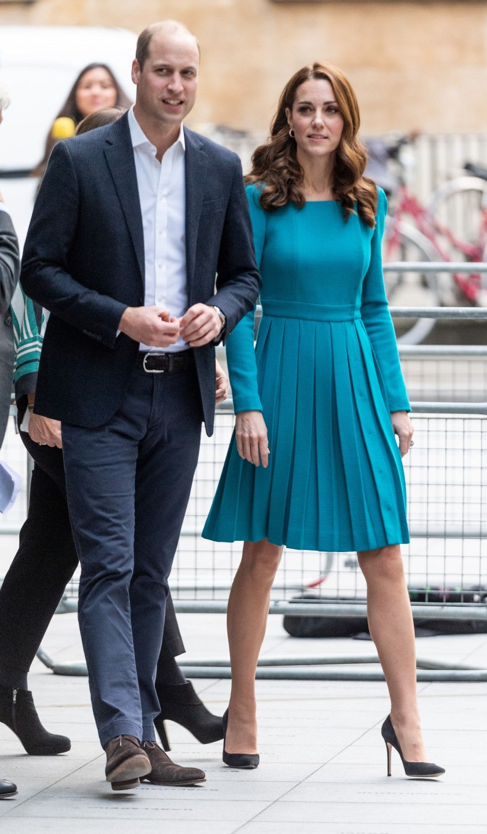 Kate Middleton and Prince William at BBC