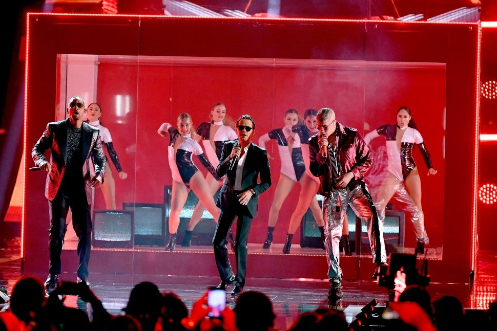Will Smith, Marc Anthony and Bad Bunny Latin GRAMMYs