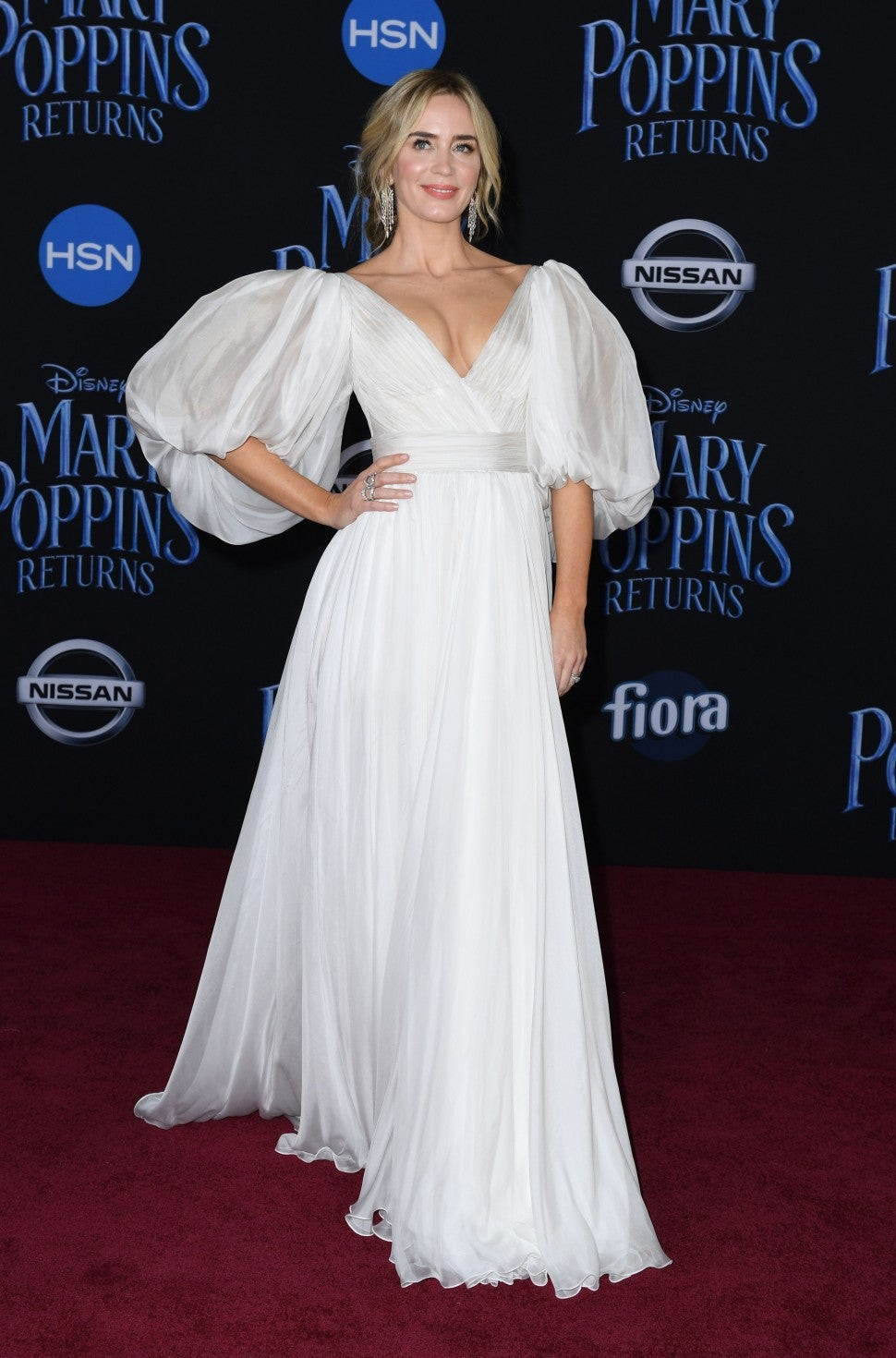 Emily Blunt Mary Poppins Returns Premiere
