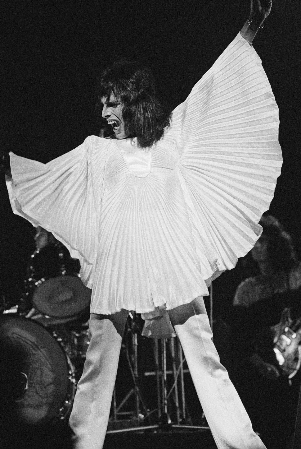 the most unforgettable iconic looks from freddie mercury pics entertainment tonight freddie mercury pics
