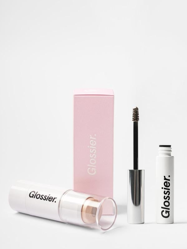 Glossier Boy Brow and Haloscope duo
