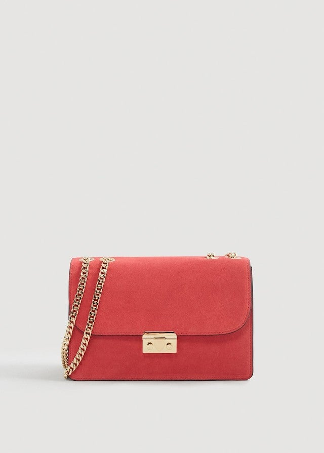Mango red bag