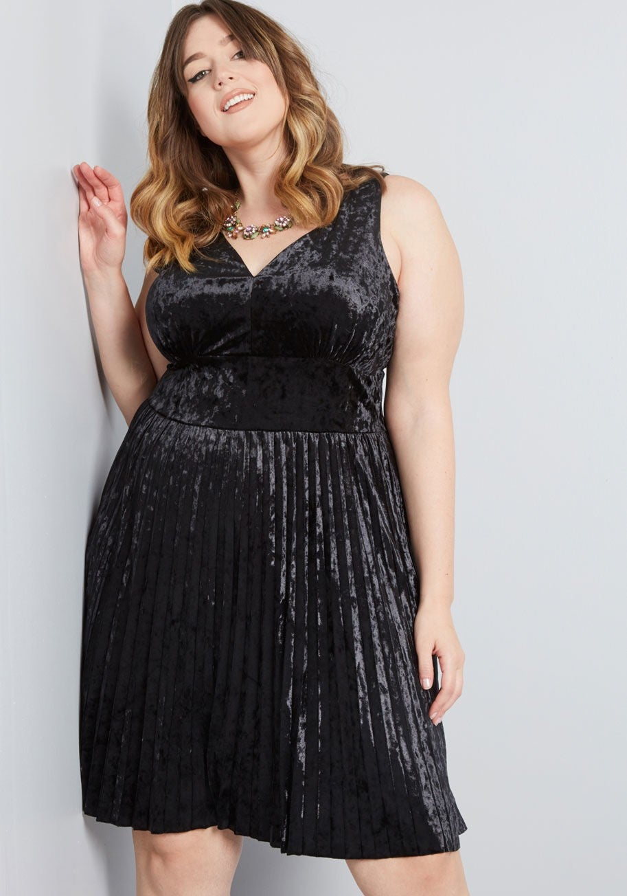 Modcloth velvet dress