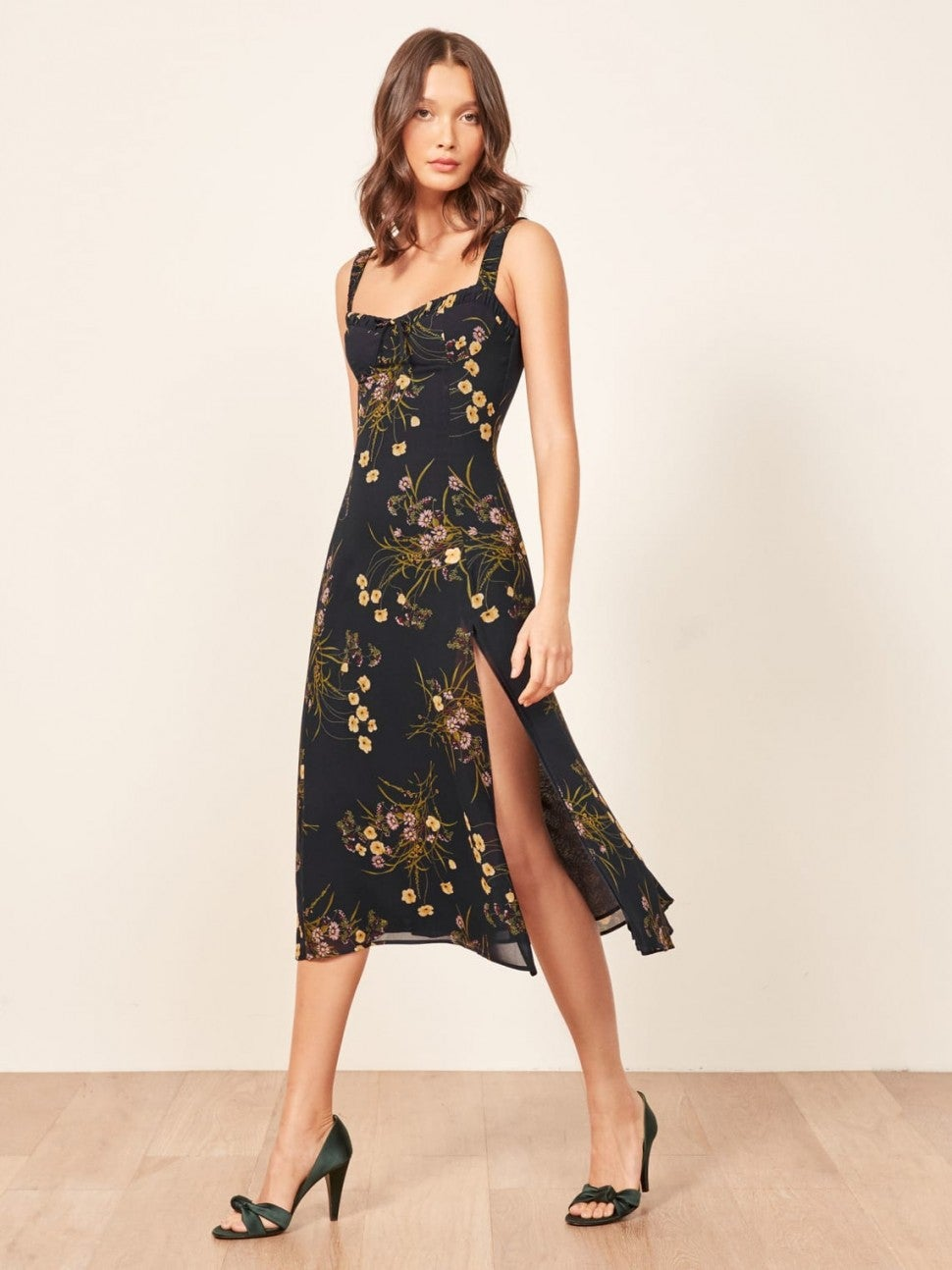 Reformation printed dress
