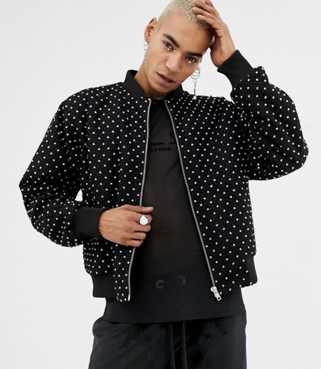 LaQuan Smith ASOS bomber