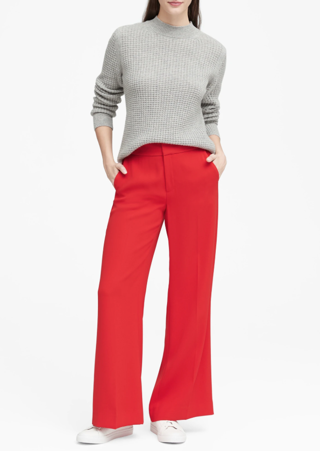 Banana Republic red pant