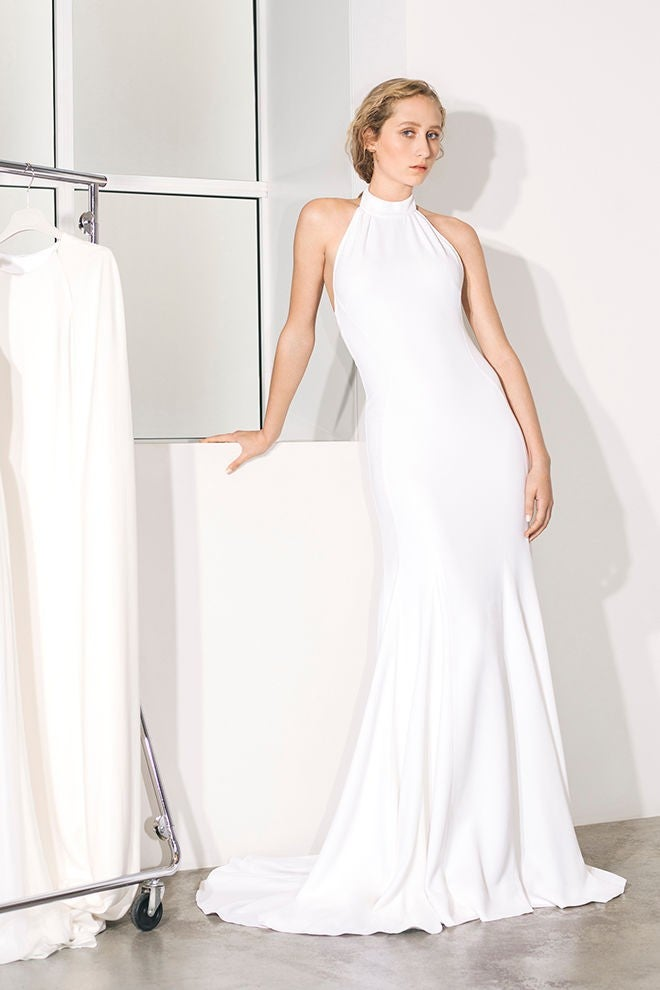 Stella McCartney halter wedding dress