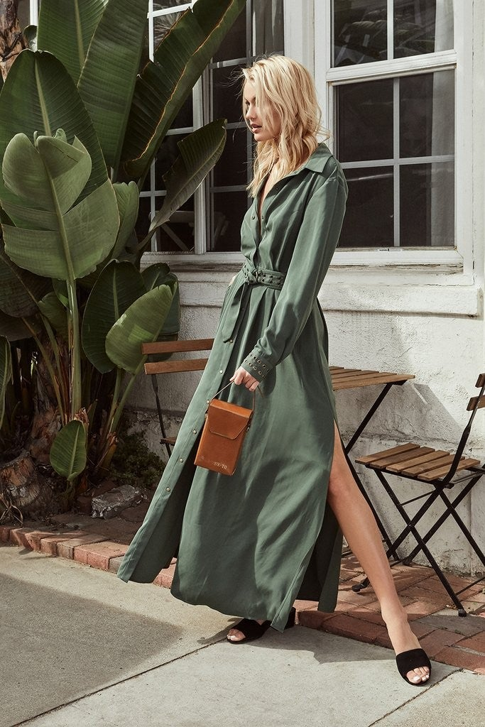 The Jetset Diaries shirtdress