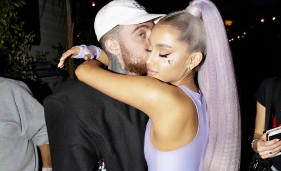 Ariana Grande and Mac Miller at Coachella 2018