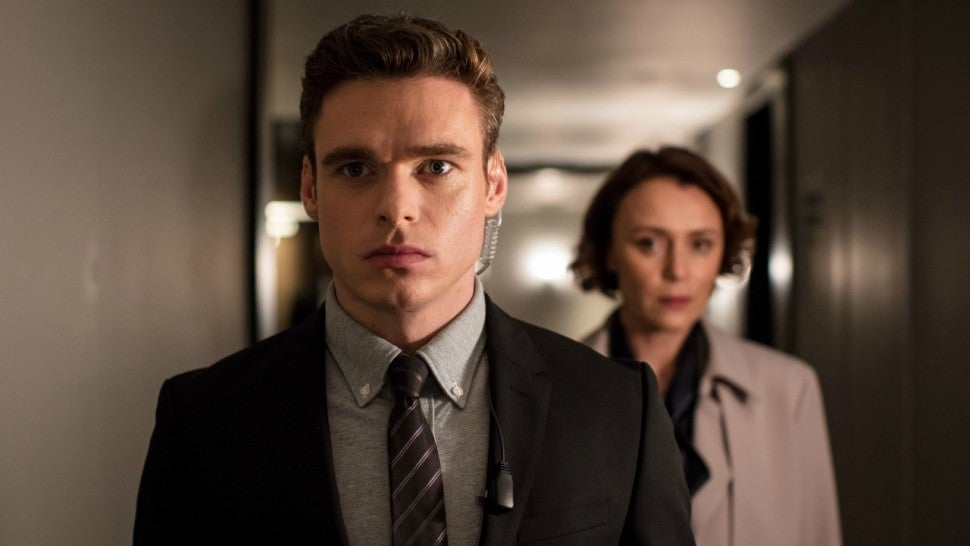 Richard Madden in 'Bodyguard'