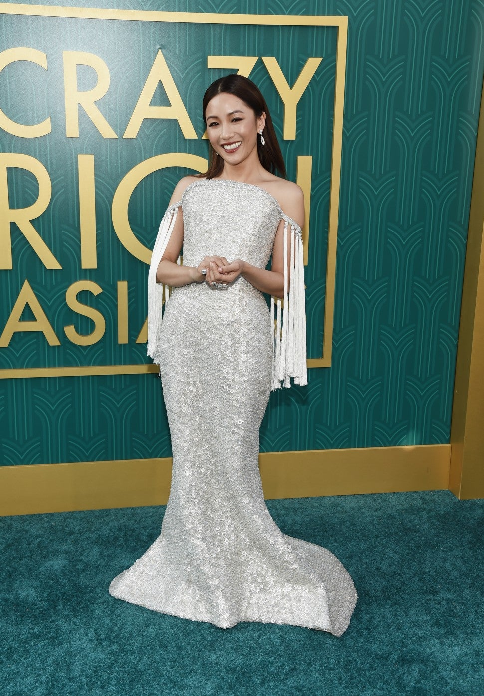 Constance Wu at Crazy Rich Asians premiere