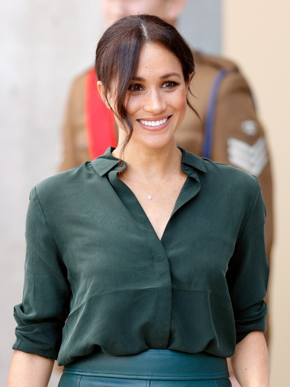 Meghan Markle in Adina Reyter necklace