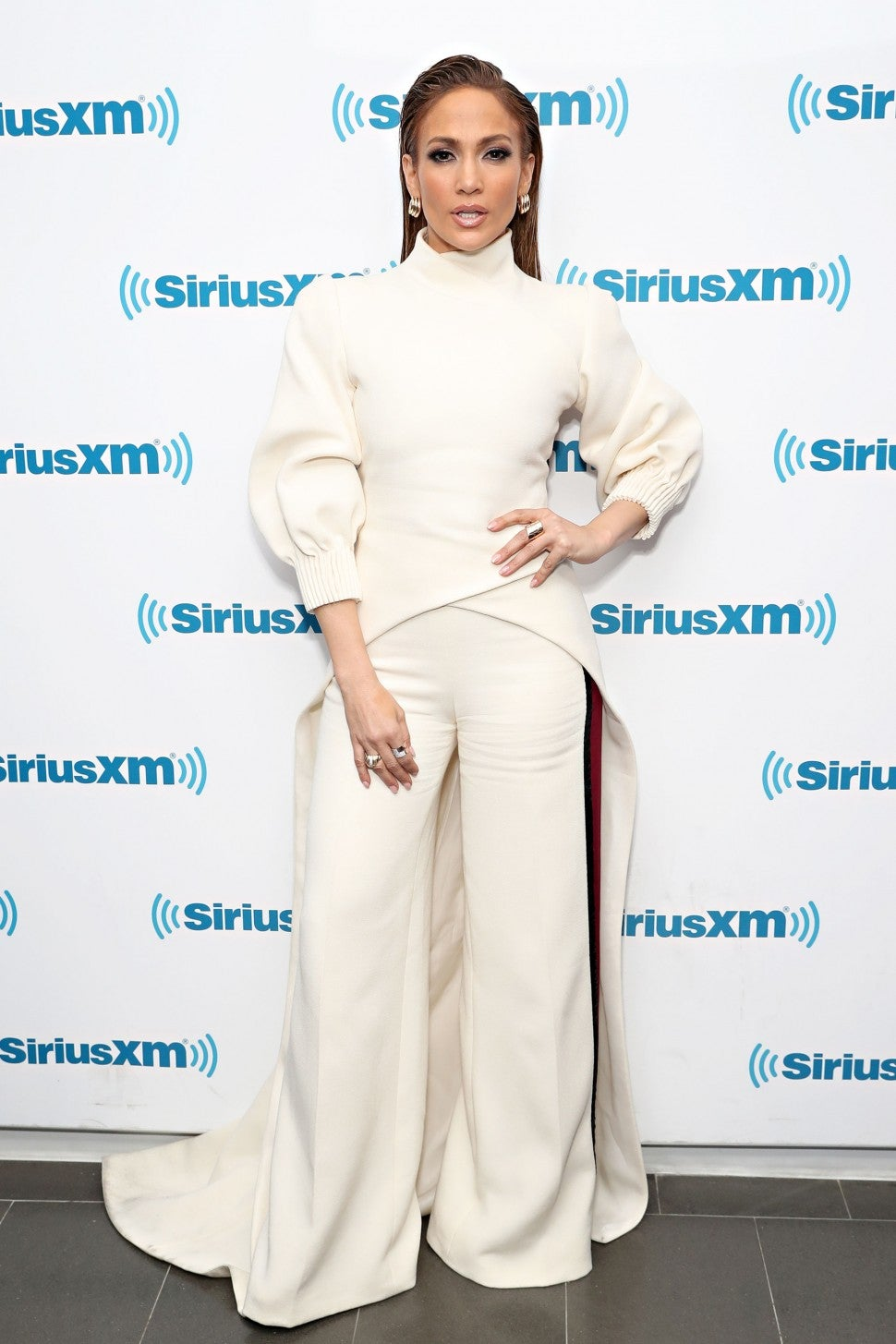 Jennifer Lopez at SiriusXM for Second Act town hall