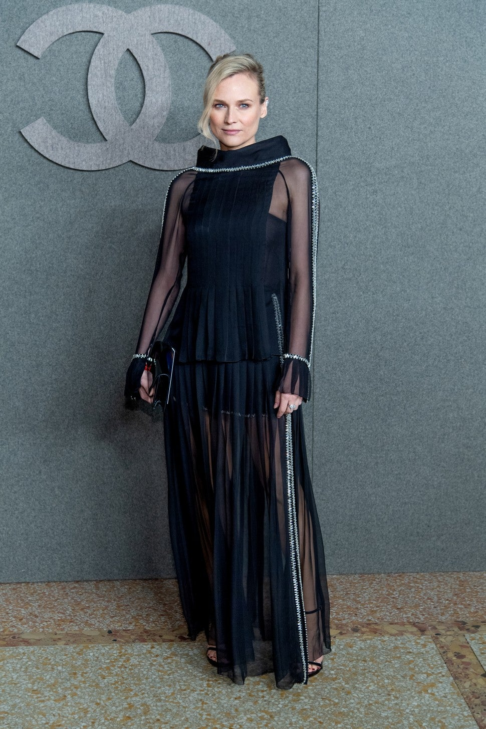 Diane Kruger at Chanel pre-fall show