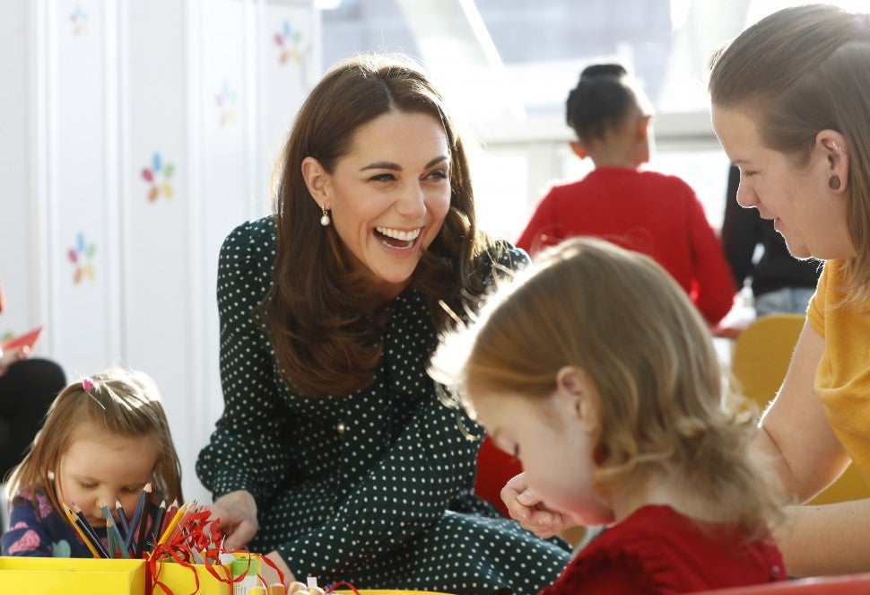 Kate Middleton Evelina London Children's Hospital