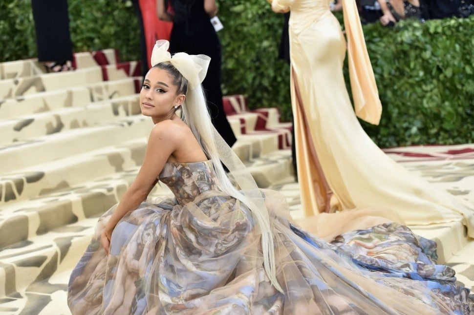 Ariana Grande at 2018 Met Gala