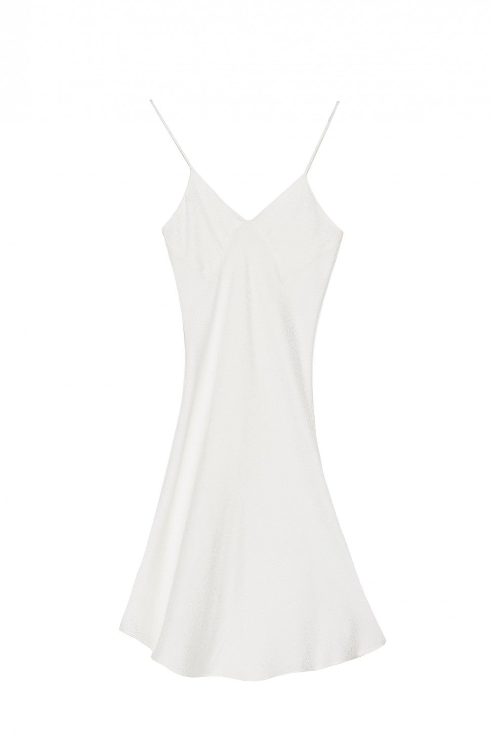 Jeu Illimite white slip dress