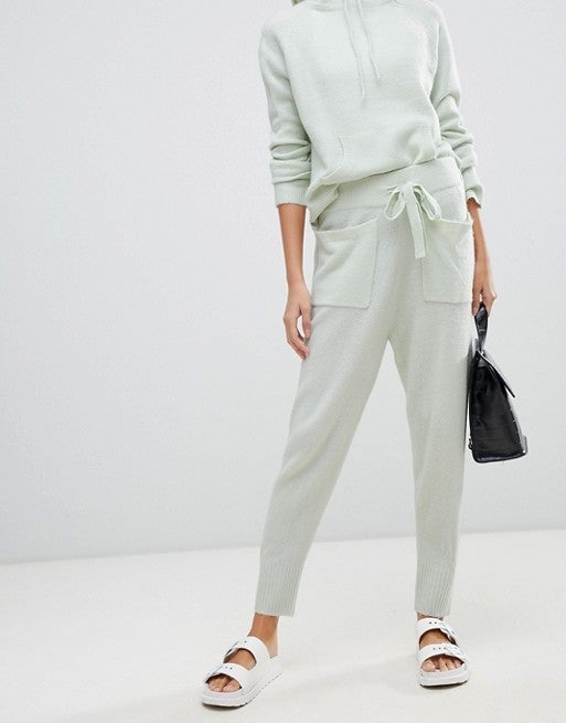 Micha Lounge mint jogger set