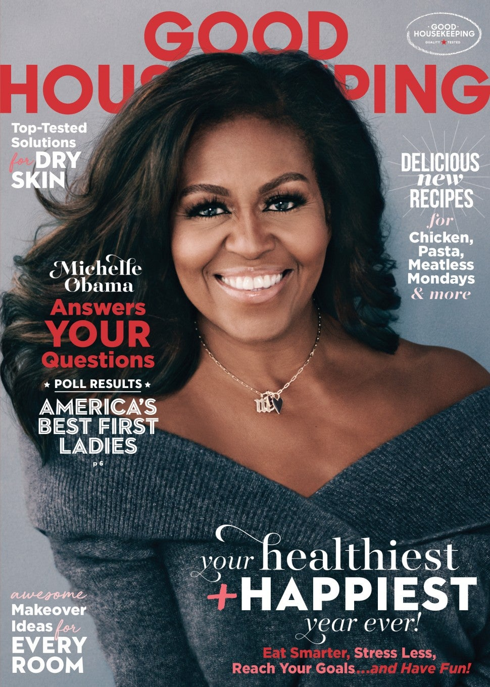 Michelle Obama covers 'Good Housekeeping'