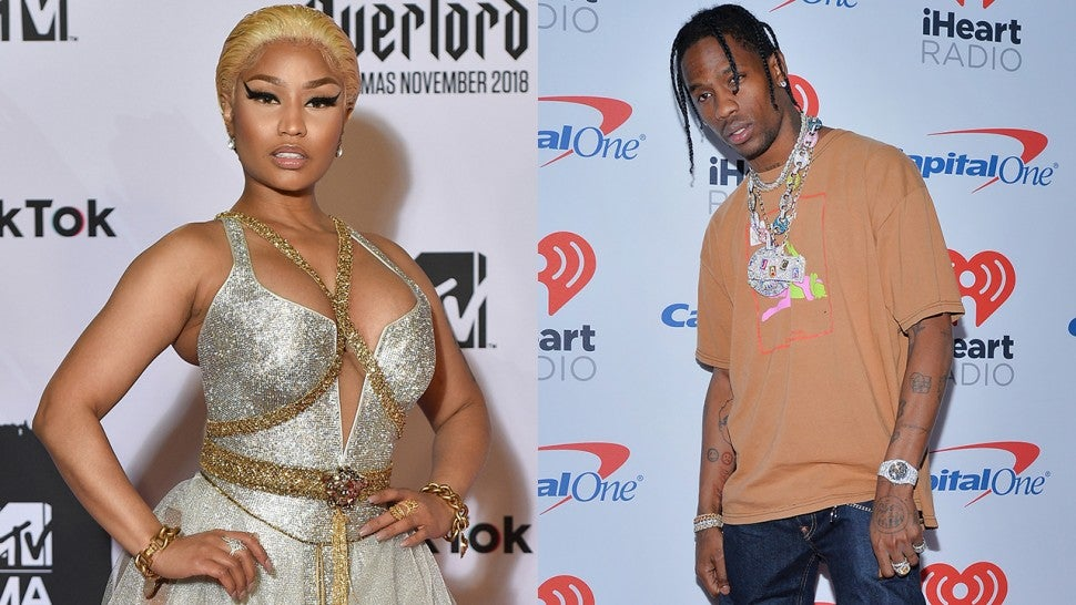 Nicki Minaj and Travis Scott