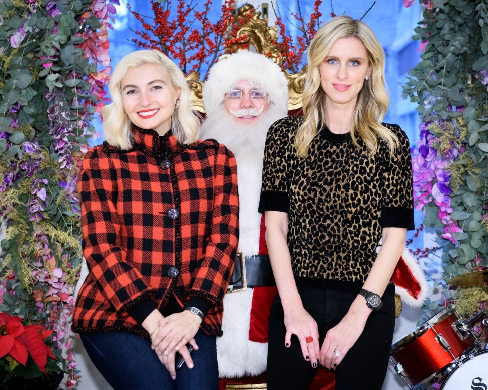 Nicky Hilton TOT NYC Holiday Party