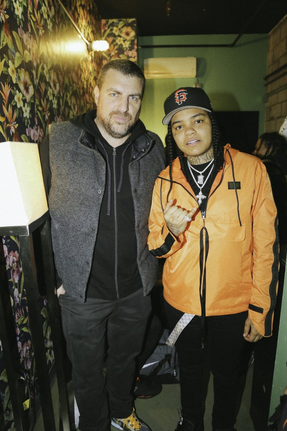 Young M.A. and Rob Stone