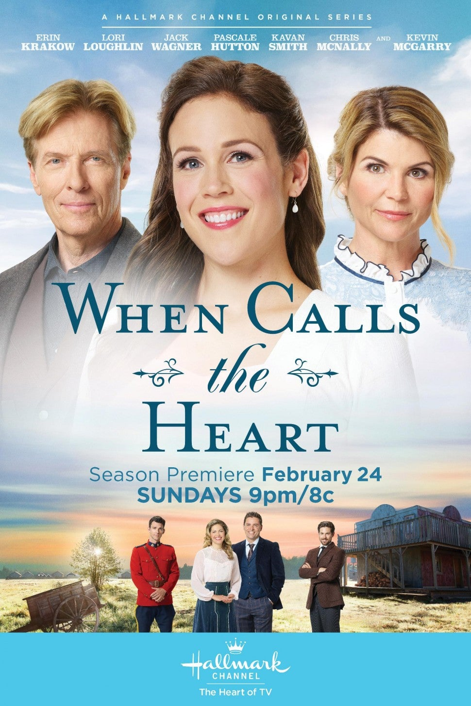 when calls the heart season 6 poster