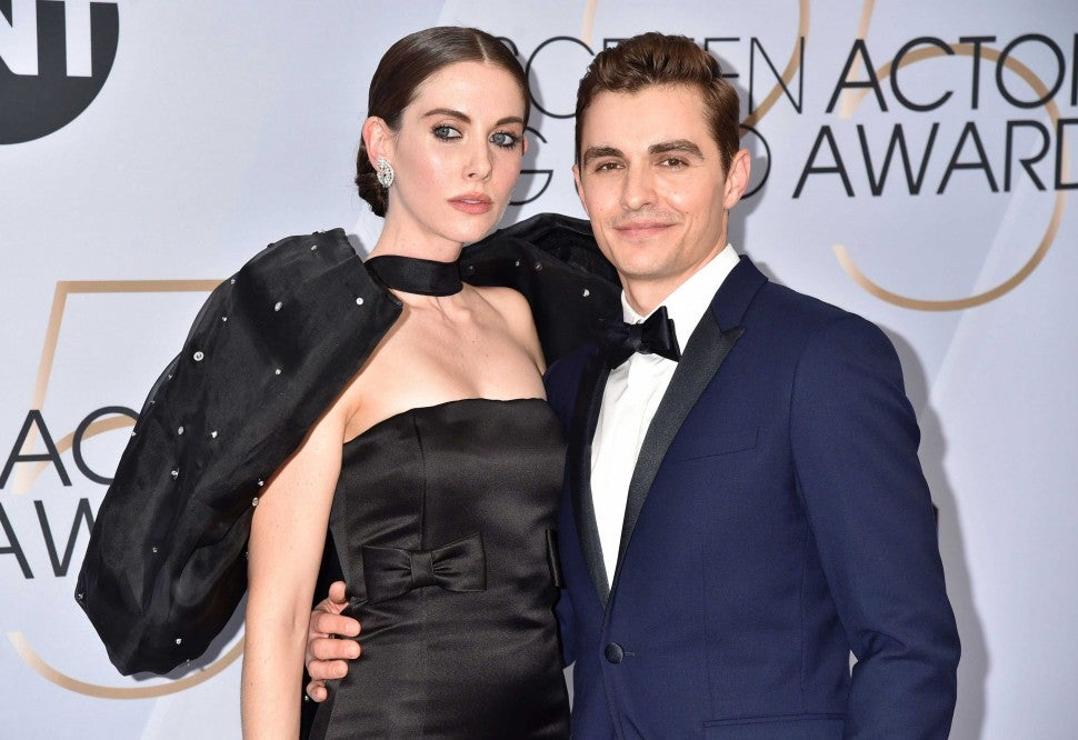 Alison Brie and Dave Franco at the 25th Annual Screen Actors Guild Awards